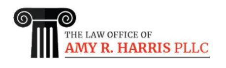 The Law Office of Amy R. Harris PLLC: Home