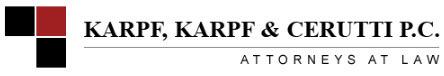 Karpf, Karpf & Cerutti, P.C.: Home