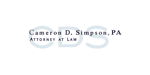 The Law Offices of Cameron D Simpson, P.A.: Home