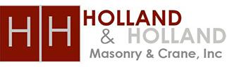 Holland & Holland Masonry & Crane Services: Home