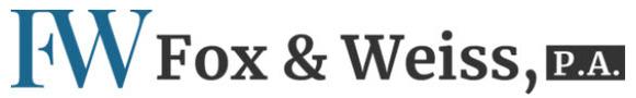 Fox & Weiss, P.A.: Home