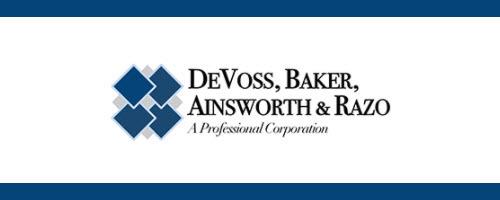 DeVoss, Baker, Ainsworth & Razo, A Professional Corporation: Home