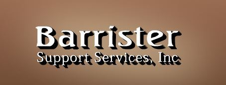 Barrister Support Services, Inc: Home