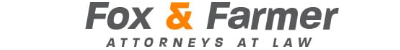 Fox & Farmer, Attorneys at Law: Home
