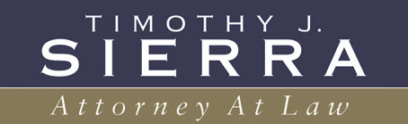 Timothy J. Sierra, Attorney at Law: Home