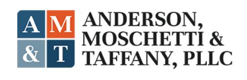 Anderson, Moschetti & Taffany, PLLC: Home