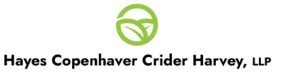 Hayes Copenhaver Crider Harvey, LLP: Home
