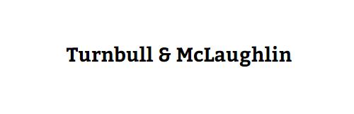 Turnbull & McLaughlin: Home