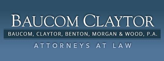 Baucom, Claytor, Benton, Morgan & Wood, P.A.: Home