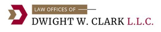 Law Offices of Dwight W. Clark, L.L.C.: Home