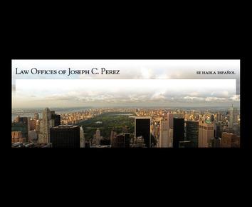 Law Offices of Joseph C. Perez: Home
