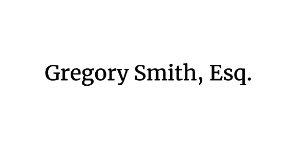 Gregory Smith, Esq.: Home