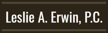Leslie A. Erwin, P.C.: Home