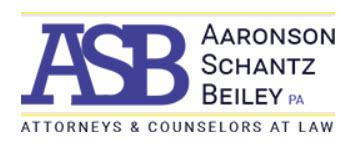 Aaronson Schantz Beiley P.A.: Home