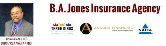 B.A. Jones Insurance Agency: Home
