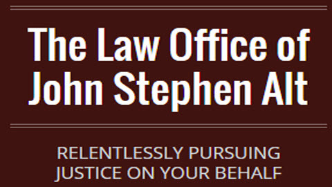The Law Office of John Stephen Alt: Home