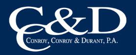 Conroy, Conroy & Durant, P.A.: Home