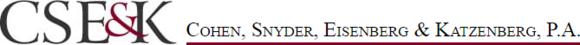 Cohen, Snyder, Eisenberg & Katzenberg, P.A.: Home