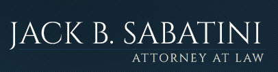 Jack B. Sabatini Attorney at Law: Home