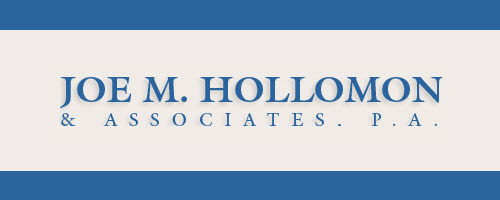 Joe M. Hollomon & Associates, P.A.: Home