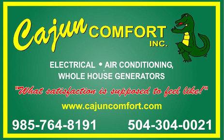Cajun Comfort: Home