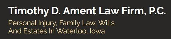 Timothy D. Ament Law Firm, P.C.: Home