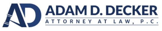 Adam D. Decker, Attorney at Law, P.C.: Home