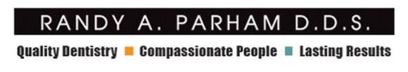 Randy A. Parham DDS: Home