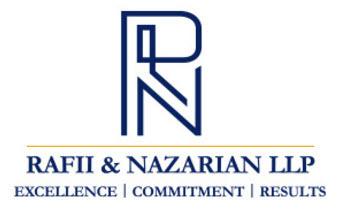 Rafii & Nazarian, LLP: Home