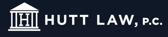 Hutt Law, P.C.: Home