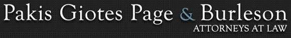 Pakis, Giotes, Page & Burleson, P.C.: Home