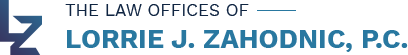The Law Offices of Lorrie J. Zahodnic, P.C.: Home