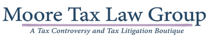 Moore Tax Law Group, LLC: Home