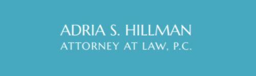 Adria S. Hillman, Attorney at Law, P.C.: Home