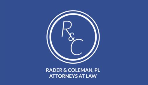 Rader & Coleman, P.L.: Home