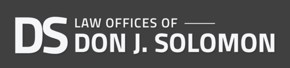 Law Offices of Don J. Solomon: Home