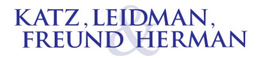 Katz, Leidman, Freund & Herman: Home