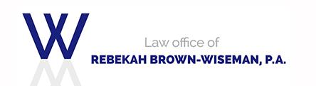 Law Office of Rebekah Brown-Wiseman, P.A.: Home
