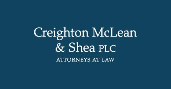 Creighton McLean & Shea PLC: Home