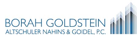 Borah, Goldstein, Altschuler, Nahins & Goidel, P.C.: Home