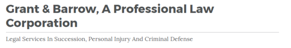 Grant & Barrow, A Professional Law Corporation: Home