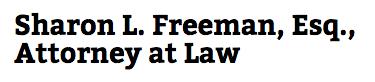 Sharon L. Freeman, Attorney at Law: Home