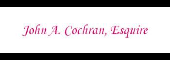 John A. Cochran: Home