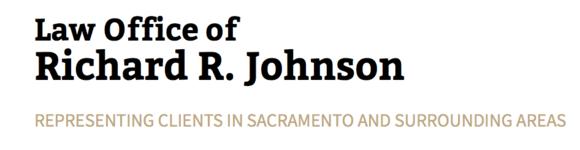 Law Office of Richard R. Johnson: Home