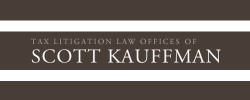 Tax Litigation Law Office of Scott Kauffman: Home