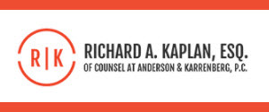 Richard A. Kaplan, Esq., Of Counsel at Anderson & Karrenberg, P.C.: Home