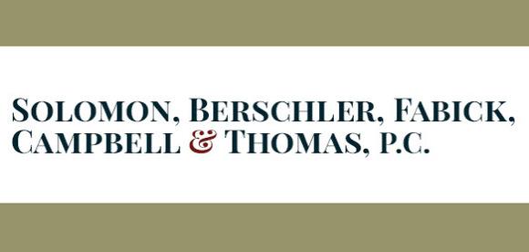 Solomon, Berschler, Fabick, Campbell & Thomas, P.C.: Home