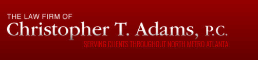 The Law Firm of Christopher T. Adams, P.C.: Home