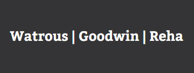 Watrous   Goodwin   Reha: Home
