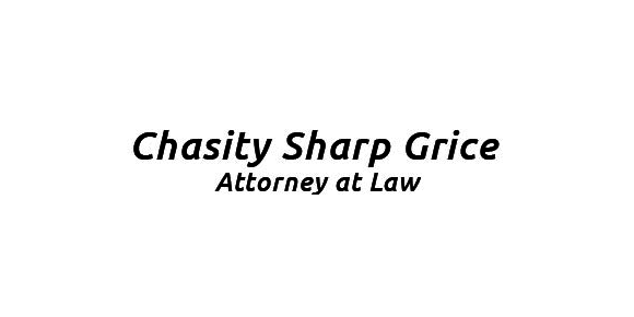 Chasity Sharp Grice, Attorney at Law: Home
